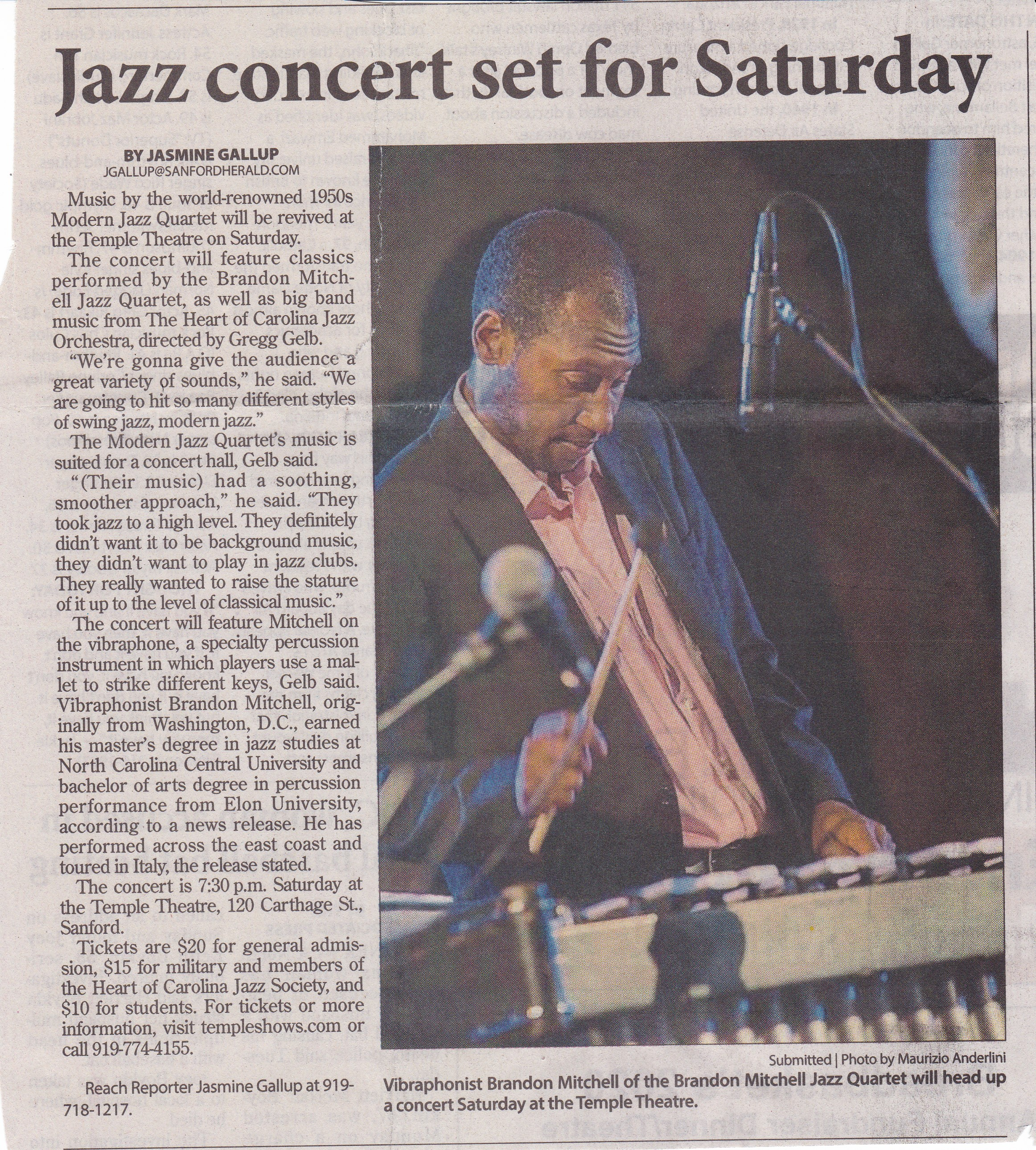 HOCJO-Guest-Artist-Brandon-Mitchell-Herald-article-pg-1