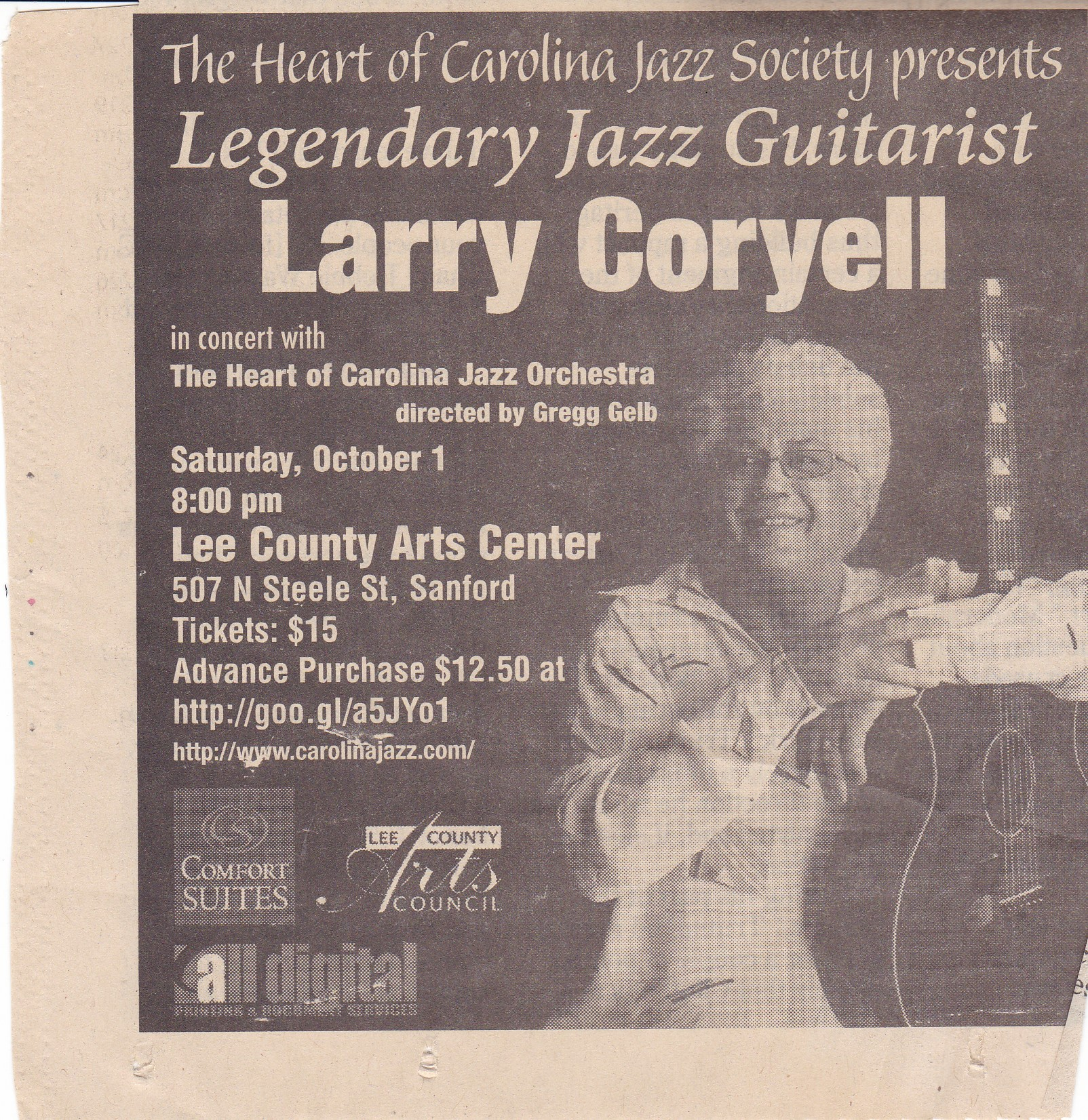 HOCJO-Guest-Artist-Larry-Coryell-ad