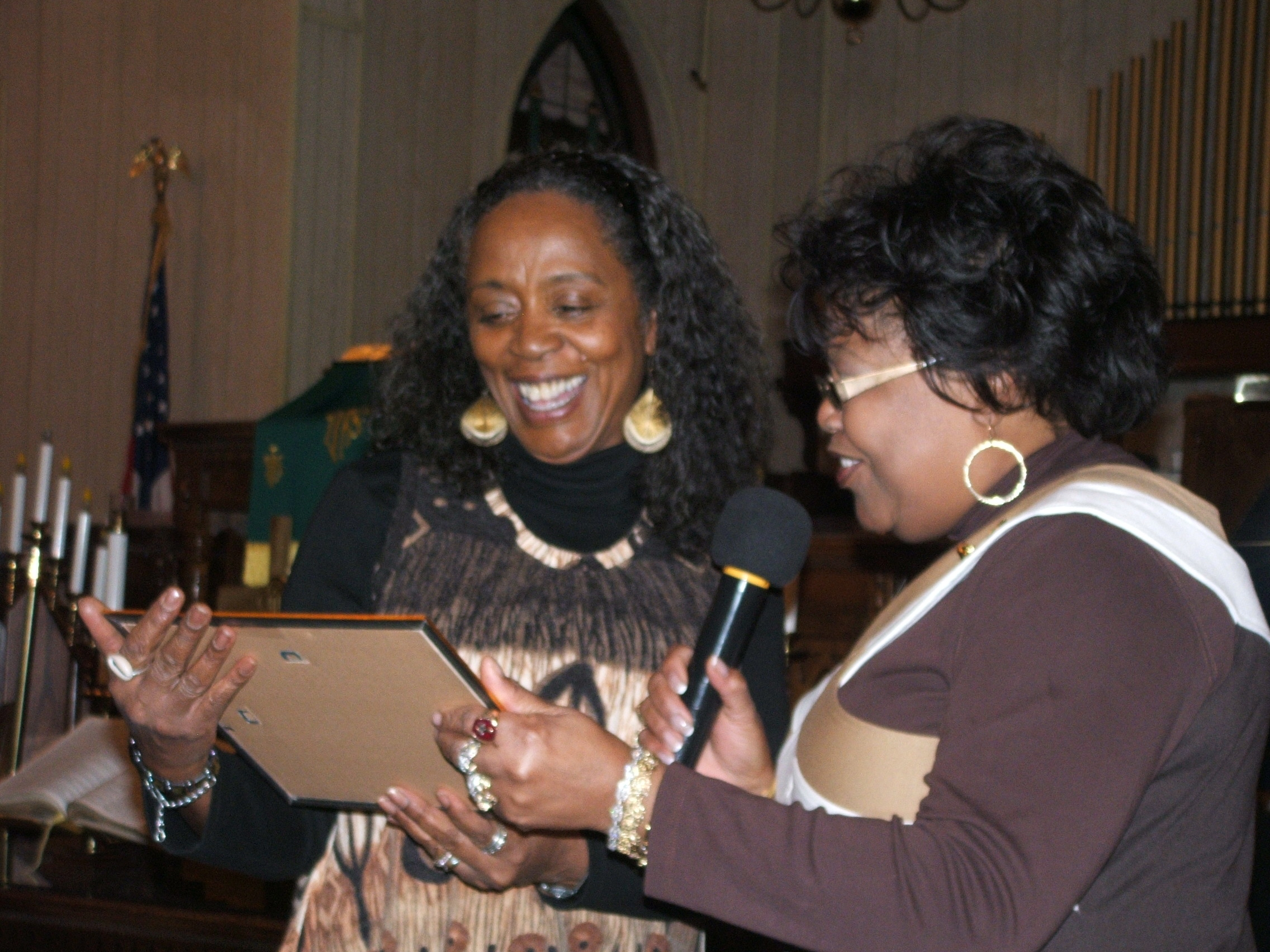 Melva and Director of Fair Promise, Rev. Iris Jordan